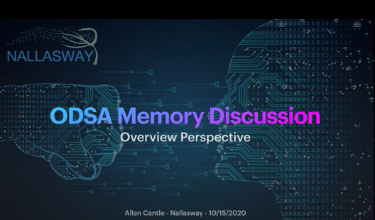 OCP ODSA Chiplet Subproject Memory Discussion with Allan Cantle